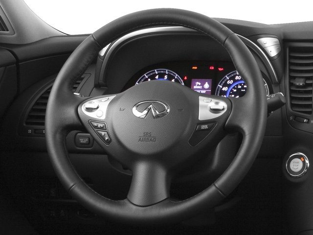 2015 INFINITI QX70 Prices and Values Utility 4D AWD V6 driver's dashboard