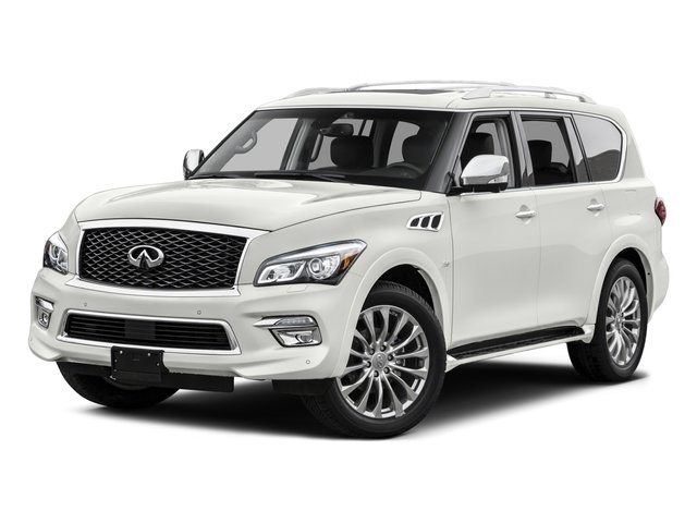 2015 INFINITI QX80 Pictures QX80 Utility 4D 2WD V8 photos side front view