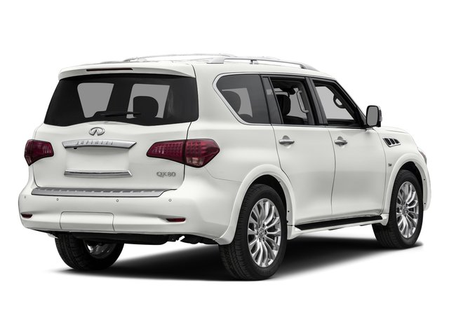 2015 INFINITI QX80 Prices and Values Utility 4D Limited AWD V8 side rear view