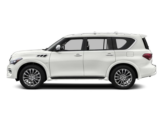 2015 INFINITI QX80 Pictures QX80 Utility 4D AWD V8 photos side view