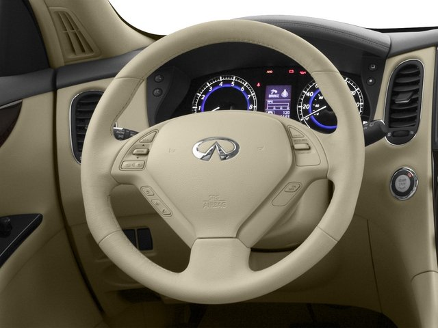 2015 INFINITI QX50 Prices and Values Utility 4D AWD V6 driver's dashboard
