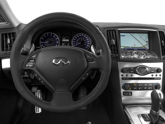 2015 INFINITI Q60 Coupe Prices and Values Coupe 2D Sport Limited V6 driver's dashboard