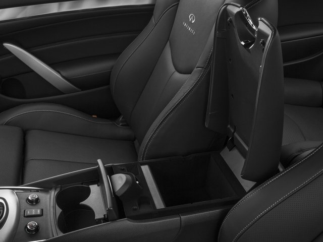 2015 INFINITI Q60 Coupe Prices and Values Coupe 2D Sport Limited V6 center storage console
