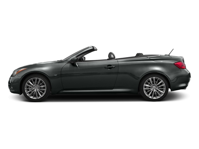 2015 INFINITI Q60 Convertible Prices and Values Convertible 2D V6 side view