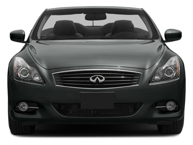 2015 INFINITI Q60 Convertible Prices and Values Convertible 2D V6 front view