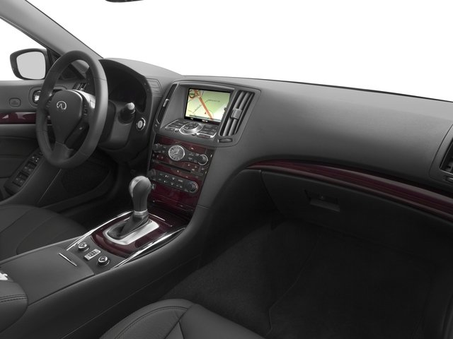 2015 INFINITI Q60 Convertible Prices and Values Convertible 2D Sport V6 passenger's dashboard