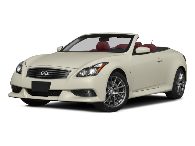2015 INFINITI Q60 Convertible Prices and Values Convertible 2D IPL V6