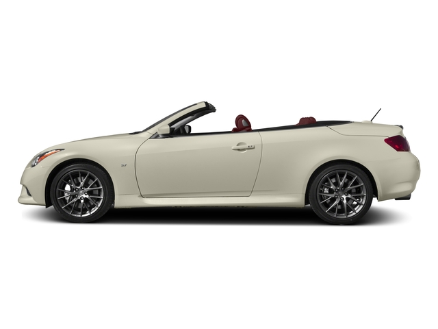 2015 INFINITI Q60 Convertible Prices and Values Convertible 2D IPL V6 side view