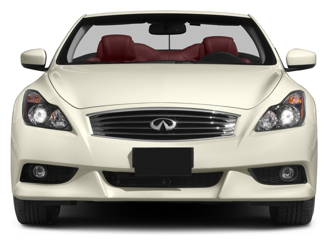 2015 INFINITI Q60 Convertible Prices and Values Convertible 2D IPL V6 front view
