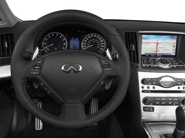 2015 INFINITI Q60 Convertible Prices and Values Convertible 2D IPL V6 driver's dashboard