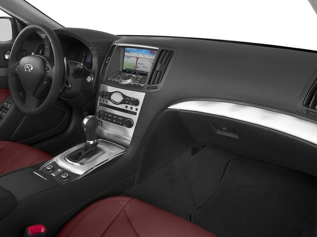 2015 INFINITI Q60 Convertible Prices and Values Convertible 2D IPL V6 passenger's dashboard