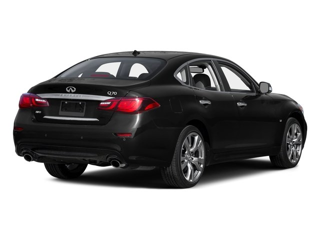 2015 INFINITI Q70 Prices and Values Sedan 4D V6 side rear view
