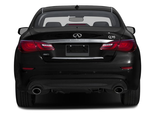 2015 INFINITI Q70 Prices and Values Sedan 4D V6 rear view