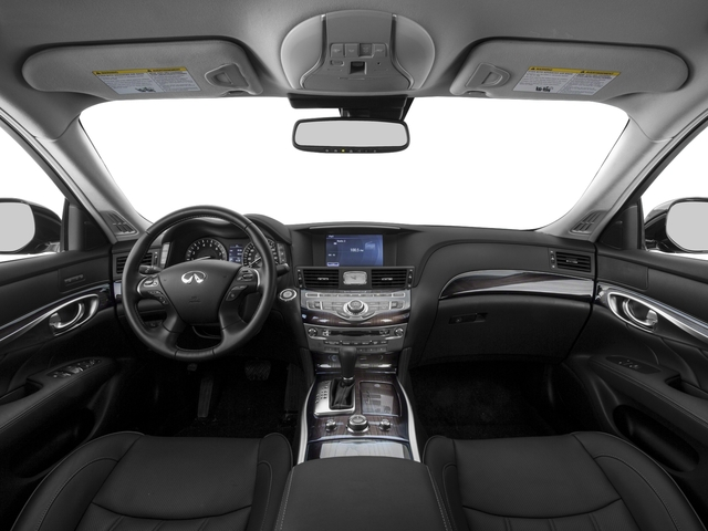 2015 INFINITI Q70 Prices and Values Sedan 4D AWD V8 full dashboard