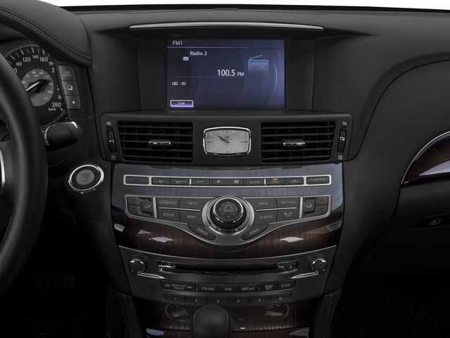 2015 INFINITI Q70 Prices and Values Sedan 4D V6 stereo system