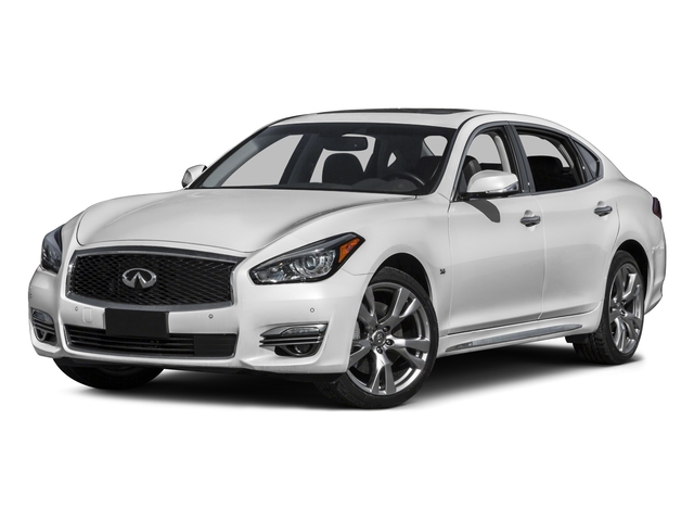 2015 INFINITI Q70L Pictures Q70L Sedan 4D LWB AWD V6 photos side front view