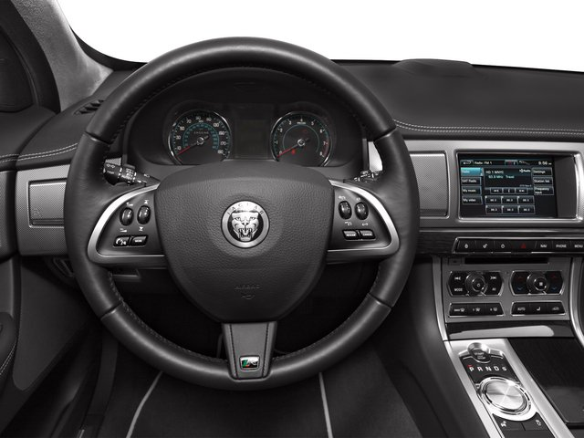 2015 Jaguar XF Prices and Values Sedan 4D XFR V8 Supercharged driver's dashboard