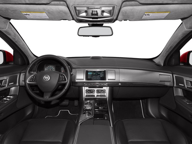 2015 Jaguar XF Prices and Values Sedan 4D XFR V8 Supercharged full dashboard