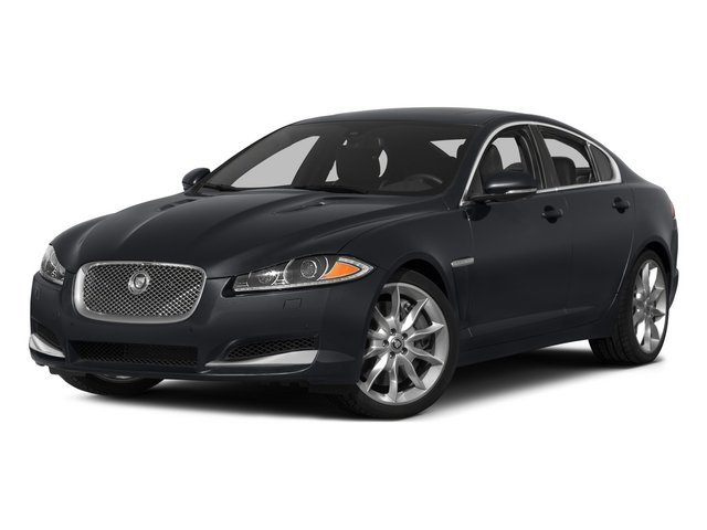 2015 Jaguar XF Pictures XF Sedan 4D Portfolio V6 Supercharged photos side front view
