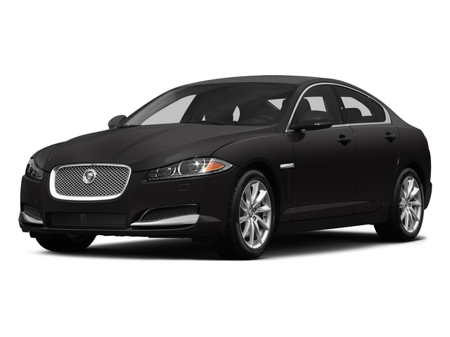 2015 Jaguar XF Prices and Values Sedan 4D V8 Supercharged side front view