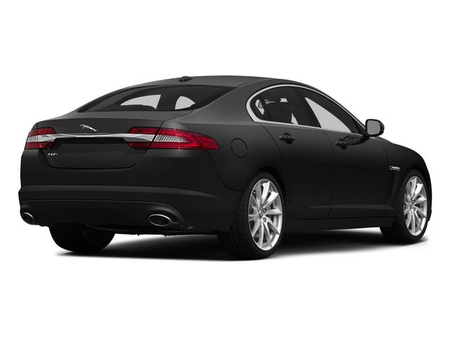 2015 Jaguar XF Prices and Values Sedan 4D V8 Supercharged side rear view