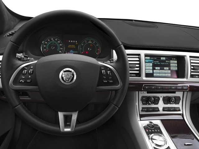 2015 Jaguar XF Prices and Values Sedan 4D V8 Supercharged driver's dashboard