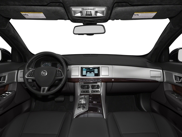 2015 Jaguar XF Pictures XF Sedan 4D V8 Supercharged photos full dashboard