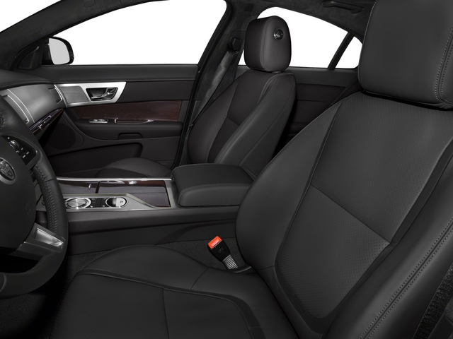 2015 Jaguar XF Prices and Values Sedan 4D V8 Supercharged front seat interior