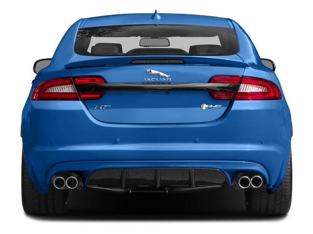 2015 Jaguar XF Prices and Values Sedan 4D XFR-S V8 Supercharged rear view