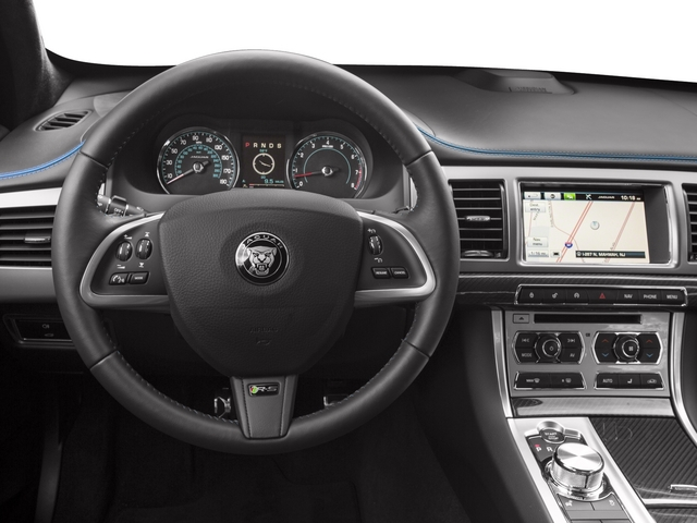 2015 Jaguar XF Prices and Values Sedan 4D XFR-S V8 Supercharged driver's dashboard