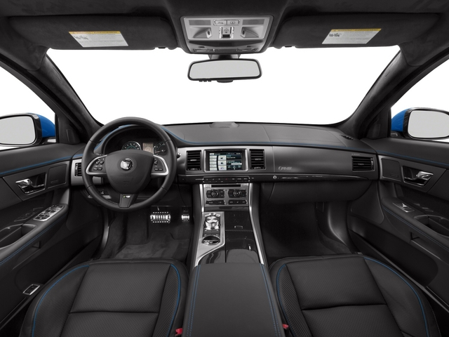 2015 Jaguar XF Prices and Values Sedan 4D XFR-S V8 Supercharged full dashboard