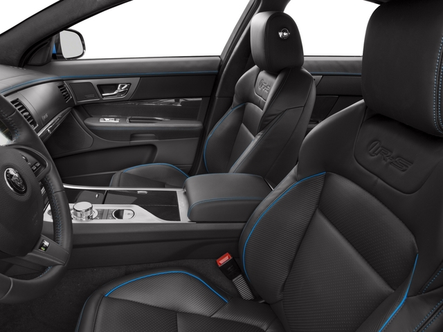 2015 Jaguar XF Prices and Values Sedan 4D XFR-S V8 Supercharged front seat interior