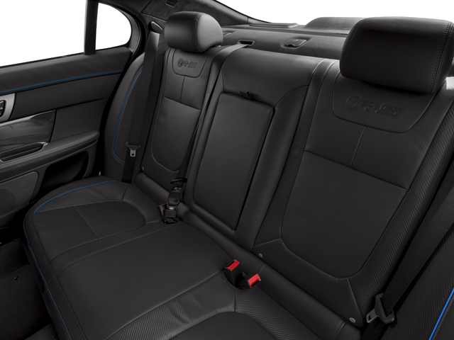 2015 Jaguar XF Prices and Values Sedan 4D XFR-S V8 Supercharged backseat interior