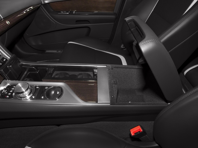 2015 Jaguar XF Prices and Values Sedan 4D Sport V6 Supercharged center storage console