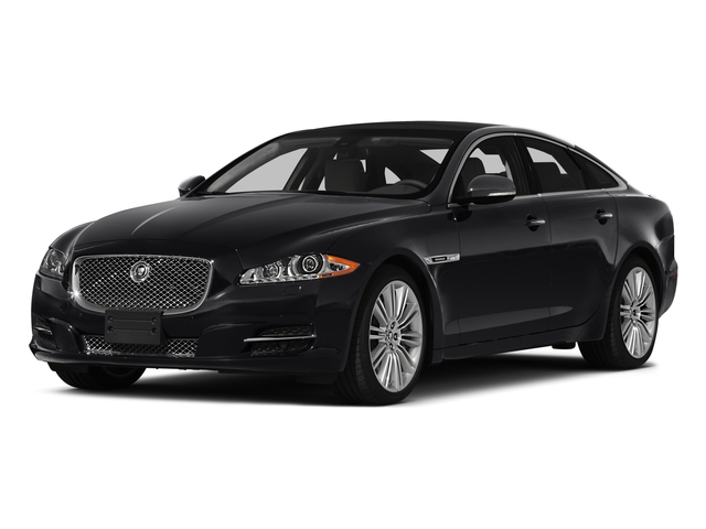 2015 Jaguar XJ Prices and Values Sedan 4D XJR V8 Supercharged side front view