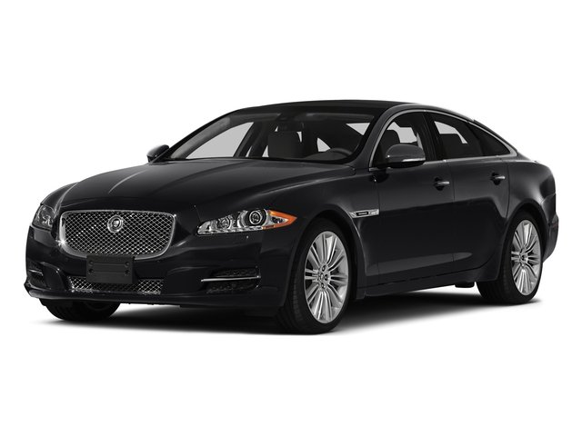 2015 Jaguar XJ Prices and Values Sedan 4D AWD V6 side front view