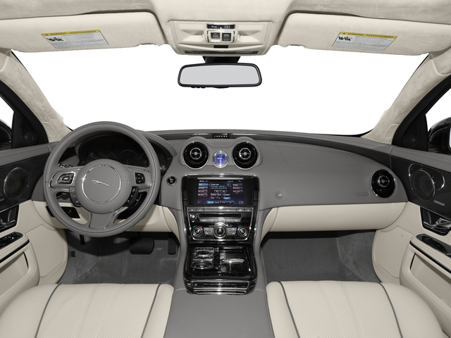 2015 Jaguar XJ Prices and Values Sedan 4D AWD V6 full dashboard