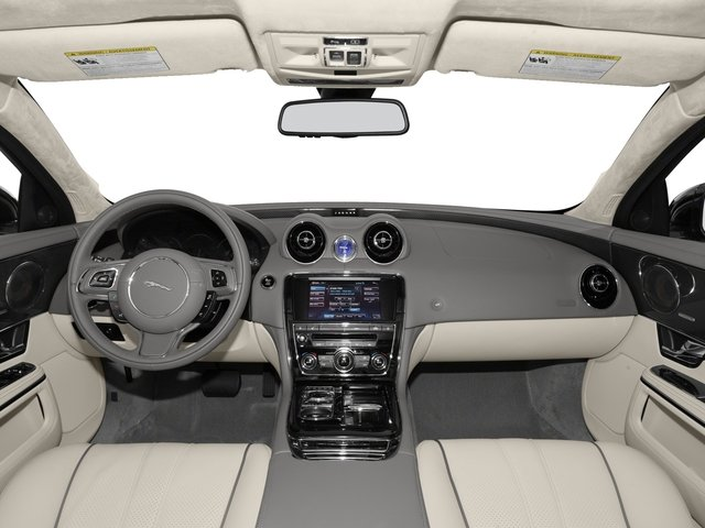 2015 Jaguar XJ Pictures XJ Sedan 4D V6 photos full dashboard