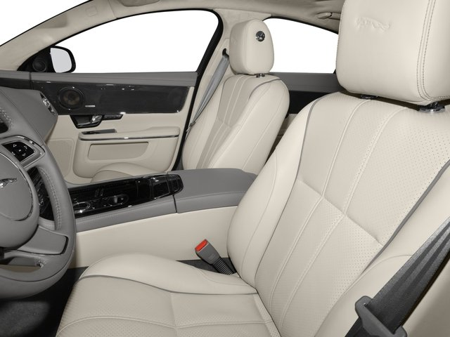 2015 Jaguar XJ Prices and Values Sedan 4D XJR V8 Supercharged front seat interior