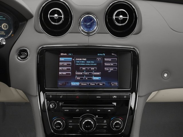 2015 Jaguar XJ Prices and Values Sedan 4D AWD V6 stereo system
