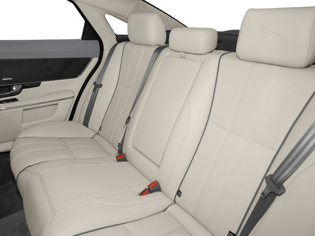 2015 Jaguar XJ Prices and Values Sedan 4D XJR V8 Supercharged backseat interior