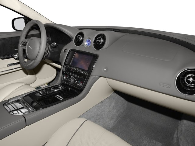 2015 Jaguar XJ Prices and Values Sedan 4D XJR V8 Supercharged passenger's dashboard