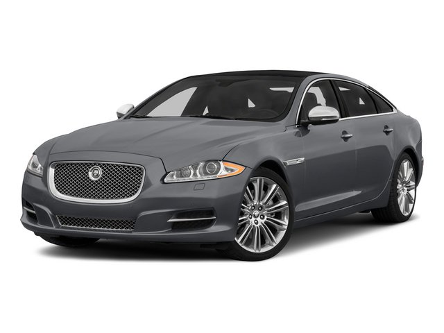 2015 Jaguar XJ Prices and Values Sedan 4D V8 Supercharged side front view