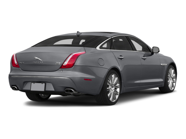 2015 Jaguar XJ Prices and Values Sedan 4D L Portolio V6 side rear view