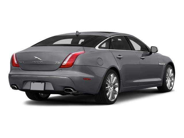 2015 Jaguar XJ Prices and Values Sedan 4D V8 Supercharged side rear view