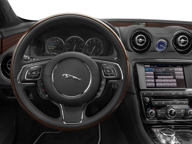 2015 Jaguar XJ Prices and Values Sedan 4D V8 Supercharged driver's dashboard