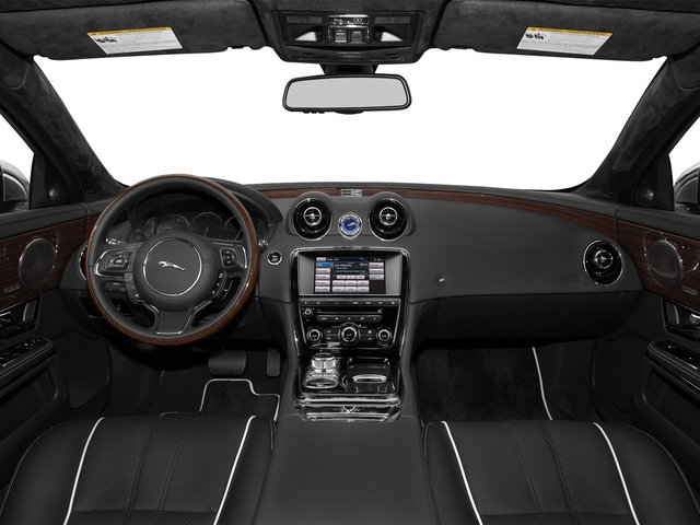 2015 Jaguar XJ Prices and Values Sedan 4D V8 Supercharged full dashboard