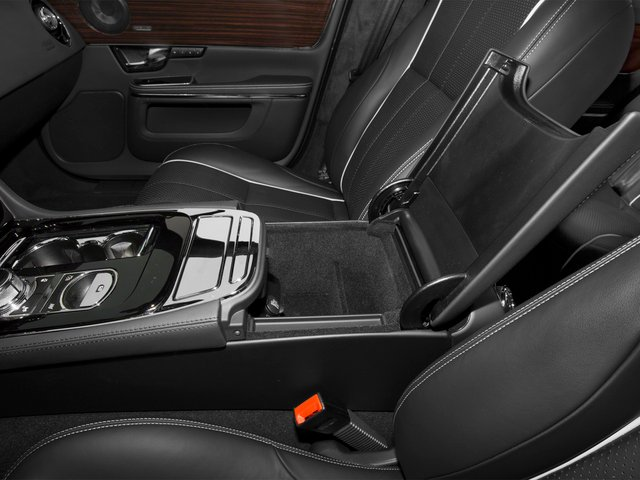 2015 Jaguar XJ Prices and Values Sedan 4D V8 Supercharged center storage console