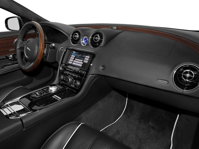 2015 Jaguar XJ Prices and Values Sedan 4D V8 Supercharged passenger's dashboard