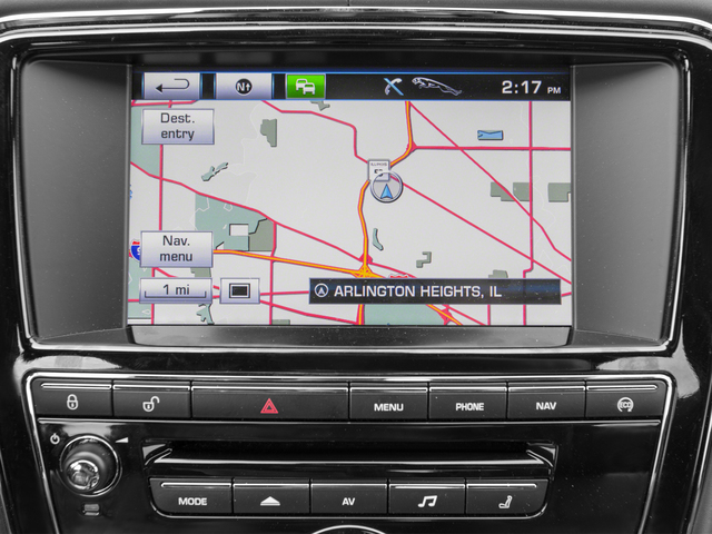2015 Jaguar XJ Prices and Values Sedan 4D L Portolio V6 navigation system